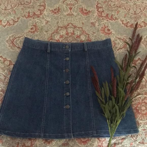 345f5f03490e Miranda & Moca Skirts | Jean Skirt | Poshmark